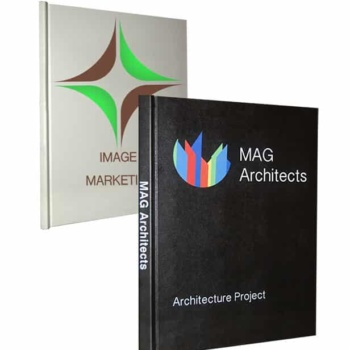 Masterbind USA's digitally printed hardcover books. Custom UVHD digital printing for any business portfolio.