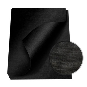 """MasterBind Black 8.5 x 11"""" Linen Soft Covers - 100pk. MasterBind Soft Linen Covers provides the traditional presentation with the soft, classic feel. The 8.5 x 11"""" features an elegant display that ensures a great depth of quality and are sure to set your project or report apart from the rest. The MasterBind Soft Linen Covers are designed and constructed for easy personalization like offset printing, silk screening, foil stamping, embossing, scored, folded, or even glued. Additionally, there are three color selection including black, navy and maroon. Enhance your reports with this simple but premium soft linen covers today."""