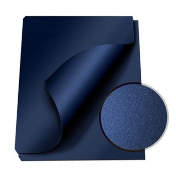 """MasterBind Navy 8.5 x 11"""" Composition Soft Covers - 100pk. Are you searching for the simple and stylish covers that can really help your project report shine? Look no further, the ideal covers has arrived. The MasterBind Composition Soft Covers features a smooth and soft leather texture that will instantly astonish the person receiving the report. With the option to combine color-coordination or even miss-matching the cover and channel spine set can really bring out the creativity and uniqueness of the project. Select and choose from a variety of colors include black, navy and maroon. Don't just settle on a basic cover, choose the best option that will illustrate your creativity. Let your document speak for itself, and start it with the covers!"""
