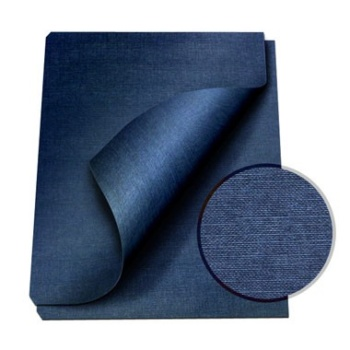 """MasterBind Navy 8.5 x 11"""" Linen Soft Covers - 100pk. MasterBind Soft Linen Covers provides the traditional presentation with the soft, classic feel. The 8.5 x 11"""" features an elegant display that ensures a great depth of quality and are sure to set your project or report apart from the rest. The MasterBind Soft Linen Covers are designed and constructed for easy personalization like offset printing, silk screening, foil stamping, embossing, scored, folded, or even glued. Additionally, there are three color selection including black, navy and maroon. Enhance your reports with this simple but premium soft linen covers today."""