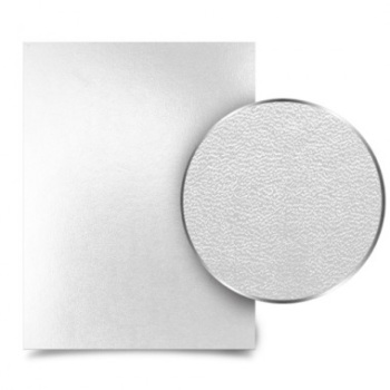 White Leather Metalbind book covers The strong, heavy-duty material will not only have a long life but also provide the right amount of support to your documents, photos or book pages.