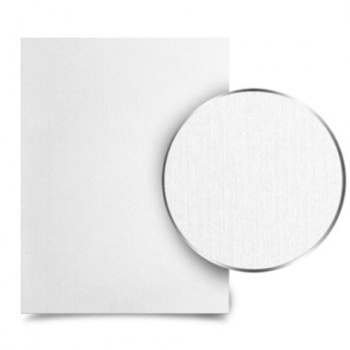 """Metalbind White Linen 8.5-x-11"""" letter-size- book covers. With a smooth texture and high quality materials that feel amazing to the touch, you'll finally have the perfect covers for all your special photos or portfolio artworks."""