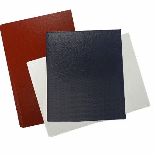 Masterbind USA's Premium book cover in leather for Atlas book binding machine.