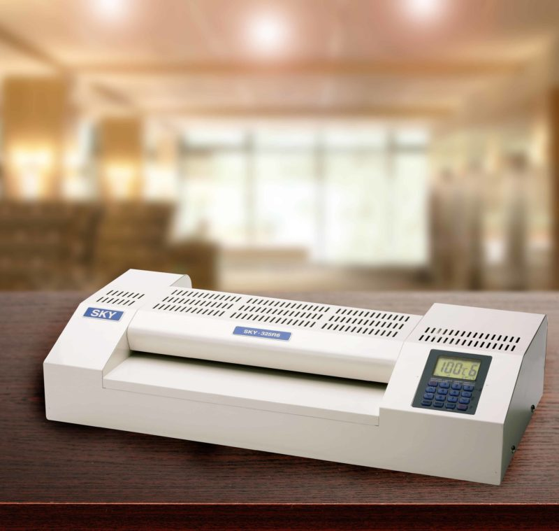 The Sky 325r6 Pouch Laminator strongest and most reliable laminator