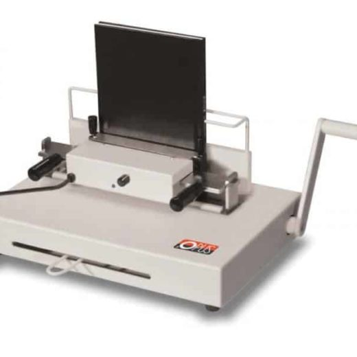 Atlas 300 from Masterbind USA. No heat book binding machine