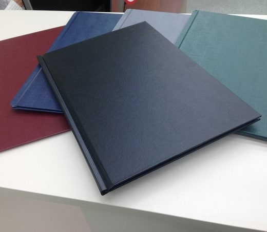 Classic Linen Book Covers for metal bind for Atlas book binding machine.