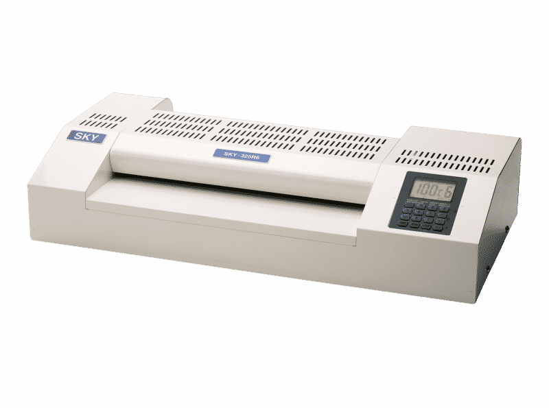 The SKY-325r6 is the primer pouch laminator for creating custom book covers for any business or photo book.